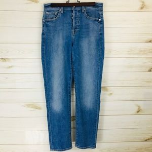 NWT 7 For All Mankind Juniors High-Rise Boyfriend
